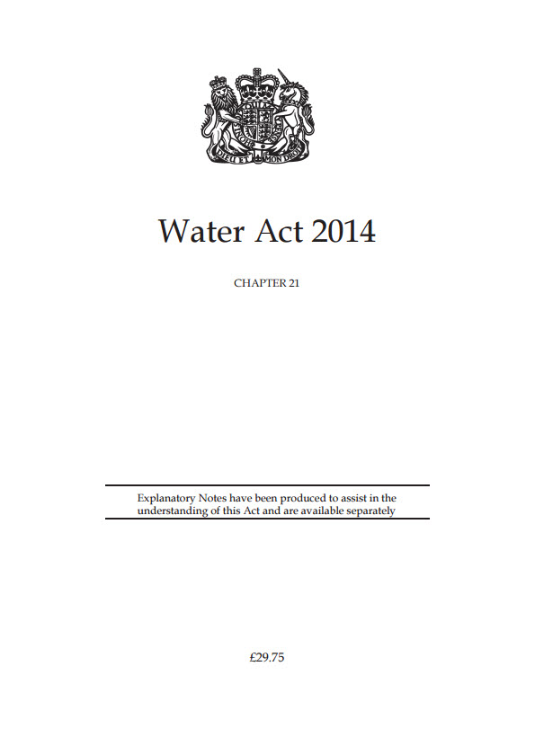 Water Act 2014