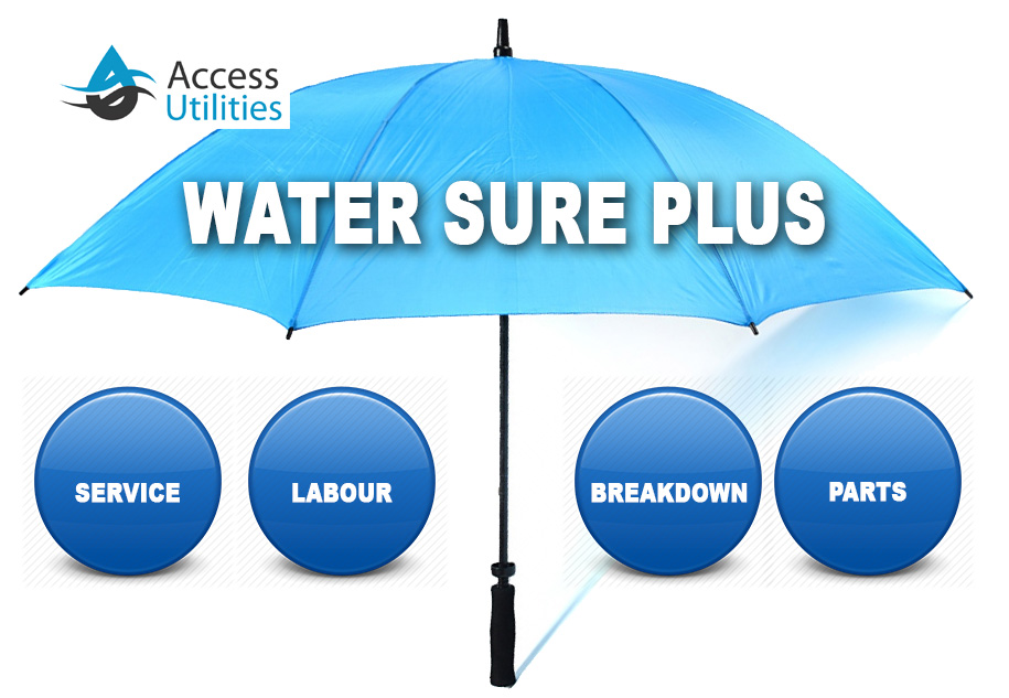 Access Utilities Heading Image Water Treatment Private Water Supply Maint Water Sure Plus